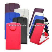 for blackberry q5/BB Q5 flip leather case