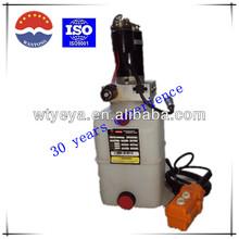 12 volt hydraulic power unit for car lift