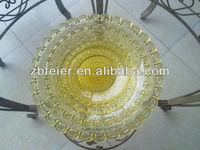 Colored Glass Plate, Glass Dish, Glass Dinnerware