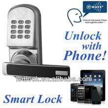 Door Locks WIFI Connected Phone/Pad/Computer Unlock