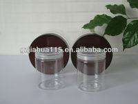 PET jar clear plastic tube