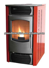 CE approved wood pellet mill burning fireplace with CE