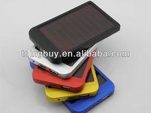 solar cell phone charger 2600Mah/5000Mah/8000Mah/10000mah optional