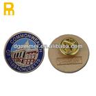 2014 hot sell round metal pin badge