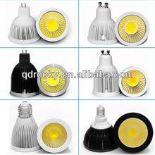ce rohs ac/dc 12v 2014 new design 3w 5w MR16/GU10 cob led spotlight