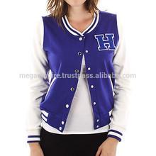 custom cotton varsity jackets for women