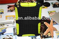 For iPad mini iPad mini 2 Retina Wholesales Hybrid Armor Rugged Kickstand High Impact Case