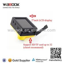 HD Outdoor Sport HD DV Helmet Digital Video Camera Water Resistant 20Meter