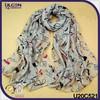 Fashion scarf fleece/scarf geometric for woman/fashion shawl