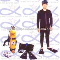black men's fishing wetsuits