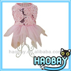 Beautiful Shining&Flower Ceremonial Dress Wholesale Dog Clothes And Accessories