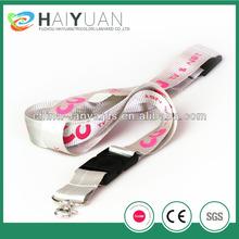 Customized neck nylon webbing strap for sale