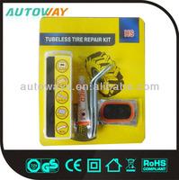 Car and Bicycle Tire Puncture Repair Kit
