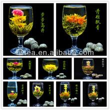 2014 new Premium grade individual wrapped blooming flower tea