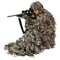 3D hoja poncho de camuflaje ropa de caza ghillie suit