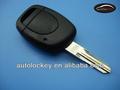 """Chave do carro de substituição para renault um botão do controle remoto chave shell, com"""" valeo"""" na lâmina sem logotipo"""