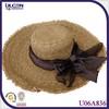 hight quality Burr large brimmed paper sun visor hat