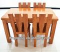 2014 nuovo design in legno massello di rovere tavolo da pranzo a009