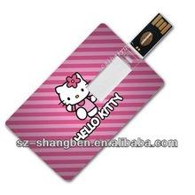 bulk 4gb credit card usb flash drive