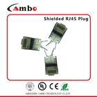 China Manufacturing Cat7 Rj45 Modular Plug High Quality 8P8C Gold Plating