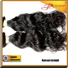 Hot selling wet and wavy human hair 100% virgin Indian raw hair bundles