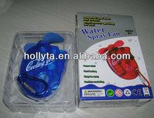 Portable Mini water spray fan with OEM design