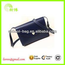 High quality branded PU leather satchel bag