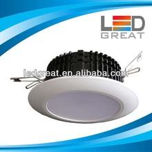 DALI Control high lumens downlight led 120 degree beam angle