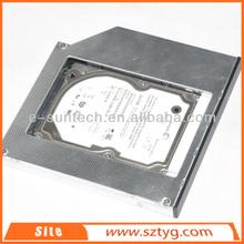 Hot Product 12.7mm Optical Bay 2nd SATA HDD Caddy Module Tray Adapter