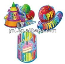 Happy Birthday Party Paper Indoor Decoration