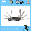 China manufacture 9 in 1 multi-function bicycle tool