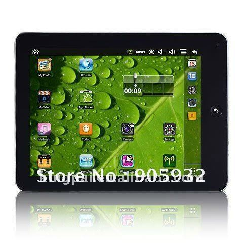 Resistive Touch Screen Cheap VIA 8650(ARM11) cover cases for android tablet wholesa External 3G 7 Android Tablet RJ45