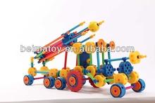 Children plastic building blocks Thinkertoyland plastic building block toys