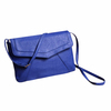 2014 hot sell pu clutch bag by bule color