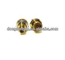 gold 3.5mm female to SMB male plug adapter jack RF connector