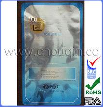 Light foil aluminum pouch for electronic