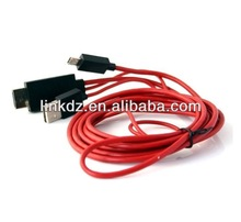 1.5m-3m MHL Micro USB HDMI Male Cable Display Port Adapter For SAMSUNG GALAXRY S3
