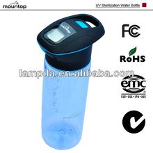 2014 hot sale nike camping survival hiking Popular PCTG alkaline water filter bottle 750ml bpa free plastic