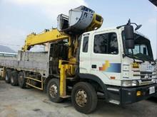 Hyundai Cargo Truck Crane / Soosan Crane 1516