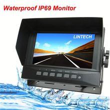 7 inch IP69 Waterpoof automobiles & motorcycles