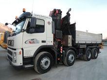 VOLVO FM400 84RB tipper + Fassi 455 crane