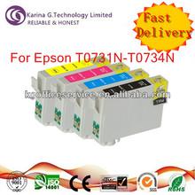 Special promotion,inkjet cartridge T0731N,T0732N,T0733N,T0734N for Epson Stylus TX200 printers