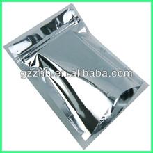 three side sealed aluminium foil bag