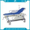 Ag-hs002 Hospital silla de ruedas plegable dimensión