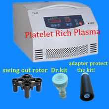 TD4N PRP/platelet rich plasma centrifuge and Dr.PRP kit 20ml, competitive price from China supplier