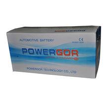 Maintenance Free Automotive Battery 12V 150AH N150L best diesel truck battery