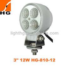 3inch 12w headlights motorcycle led work light motorbike led light kit