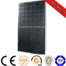 009 TUV CE price per watt solar panels,250W Mono crystalline solar cell for grid pv system cheap price