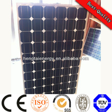 100W A grade solar panel power energy polycrystalline solar panel TUV/CE/MCS/CEC