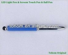 cheap price metal&plastic promotional led torch ball pen light